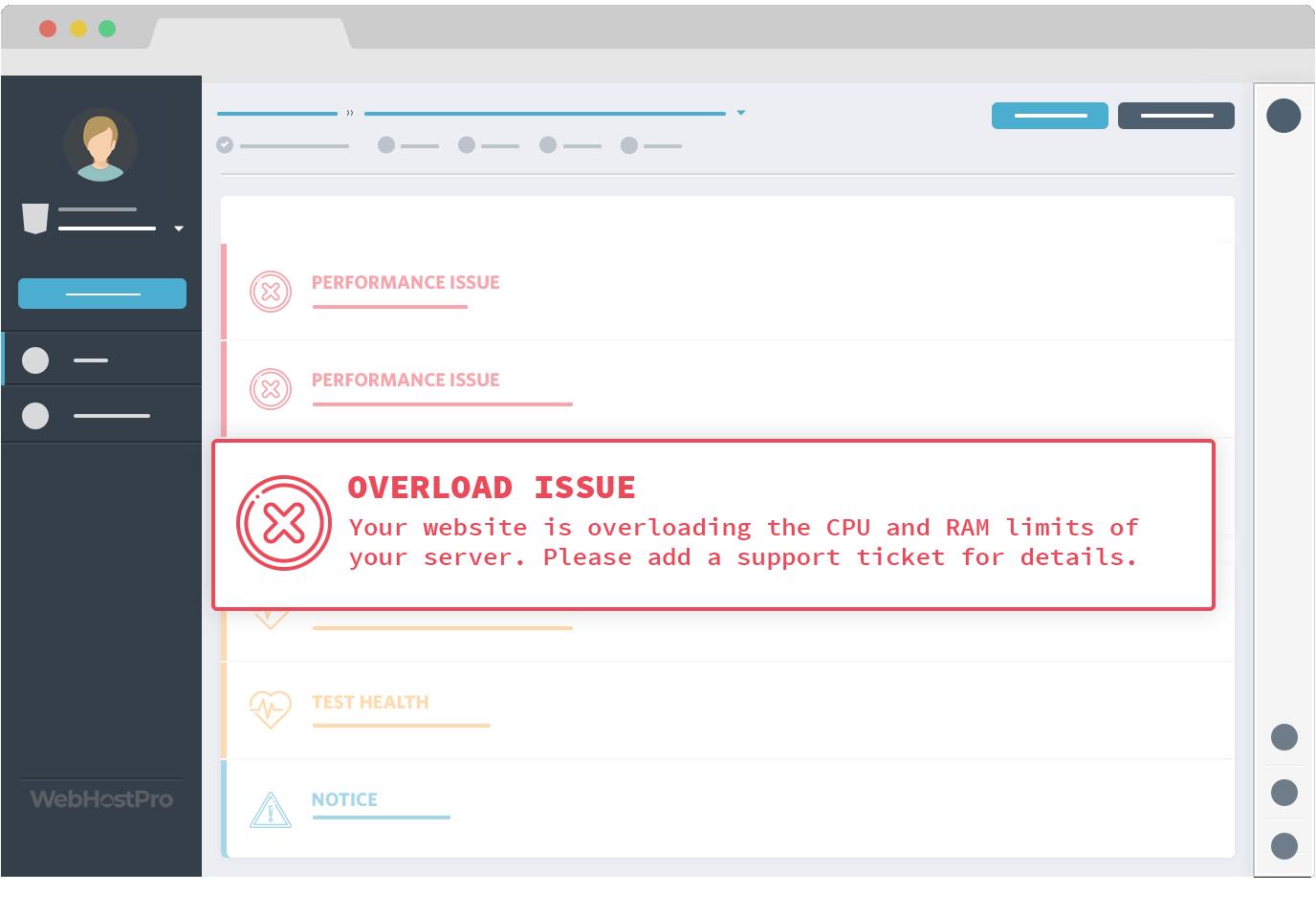 Website Overload
